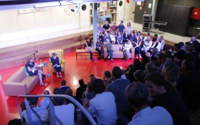 Collegetour op high performing school De Schatgraaf